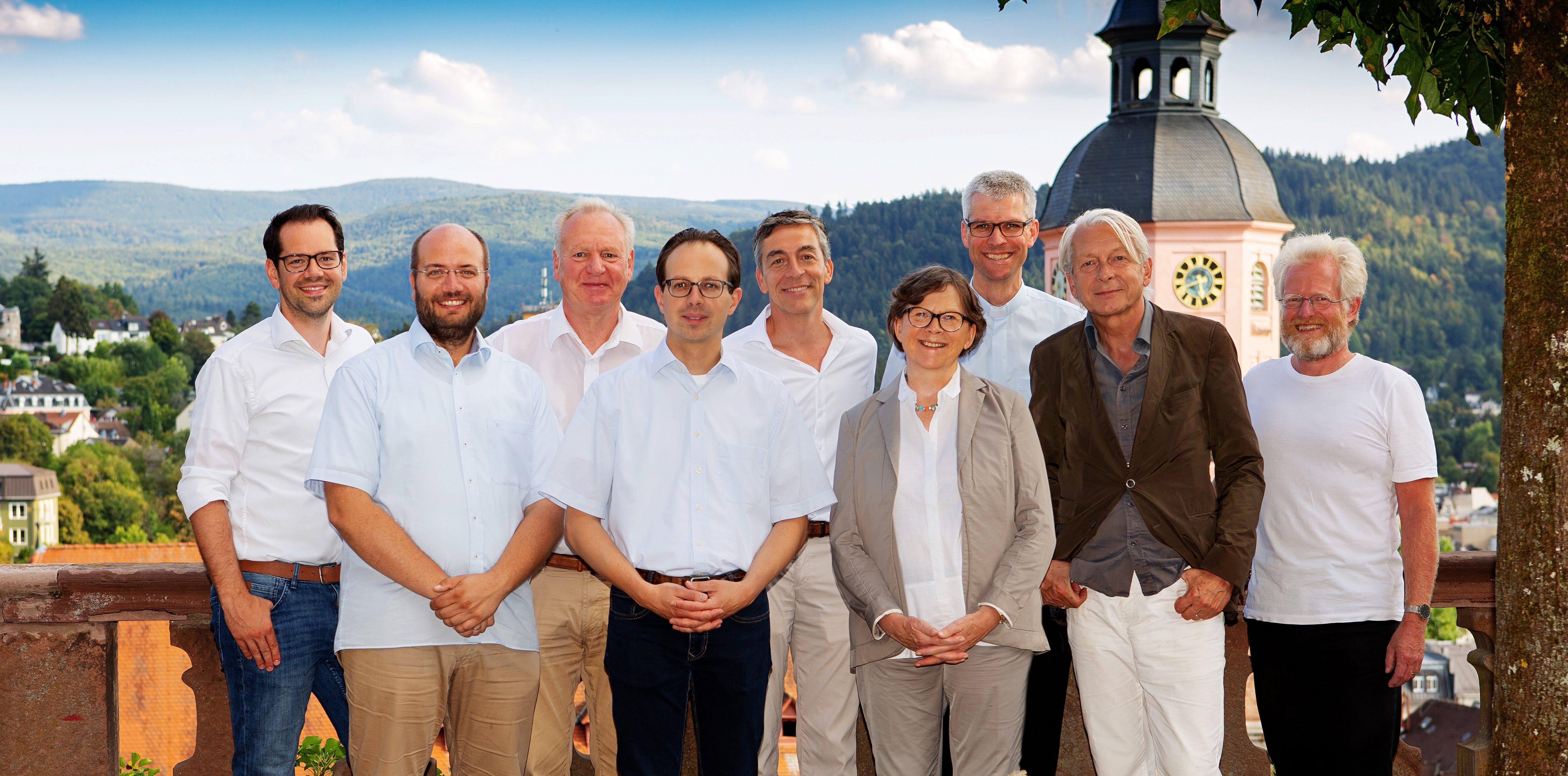 Der Bauausschuss der Stiftskirche