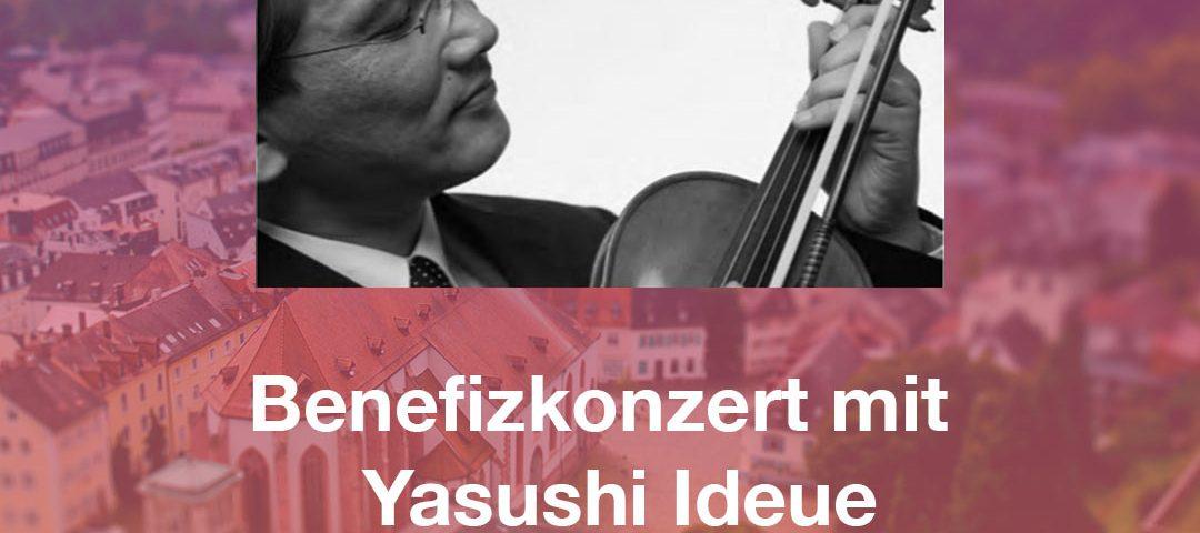 Benefizkonzert mit Yasushi Ideue